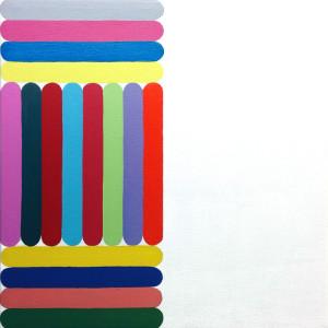 """Untitled"" acrylic on canvas 12"" x 12"" 2014"