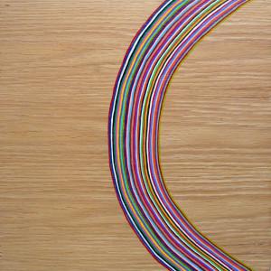 """Untitled Acrylic on wood 11"""" X 11"""""""