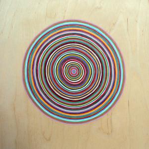 """Untitled Acrylic on wood 12' x 12"""""""
