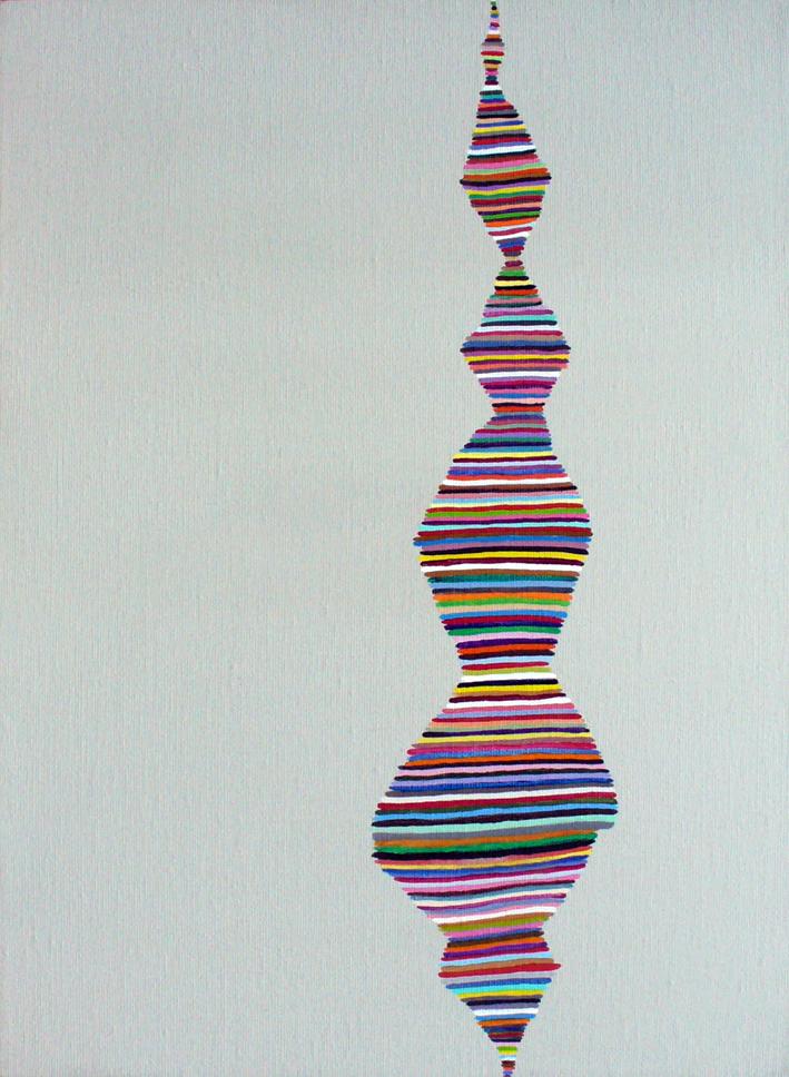 """Isolated Strain Acrylic on canvas 16"""" X 12"""""""